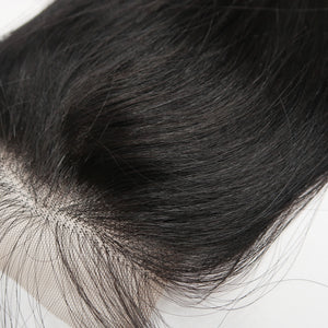 Maya Raw Chinese Straight Lace Closure - I'Kna Beauty