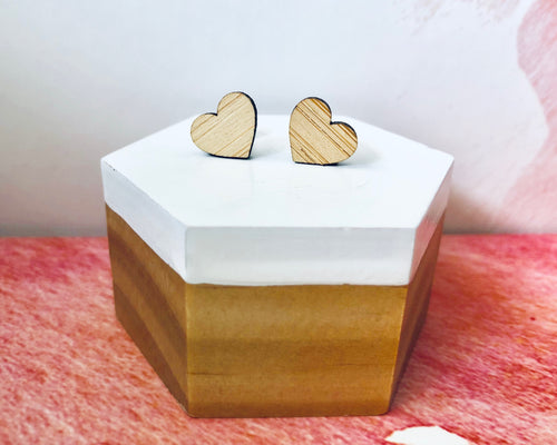 'Mini Hearts' Mini Stud Earrings