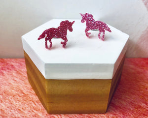 'Magical Unicorn' Mini Stud Earrings