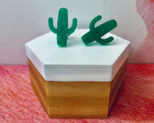 'Prickly Cactus' Mini Stud Earrings