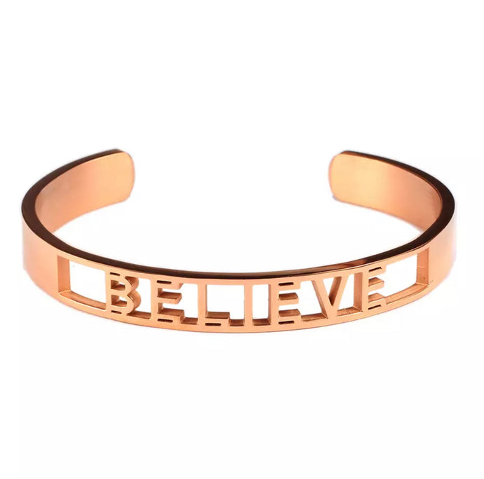 Believe (Rose Gold)