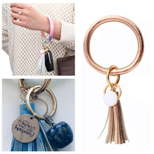 Load image into Gallery viewer, Bracelet Keychain - Rose Gold (Teachers Gift)