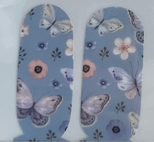 Blue Butterfly Foursies Accent