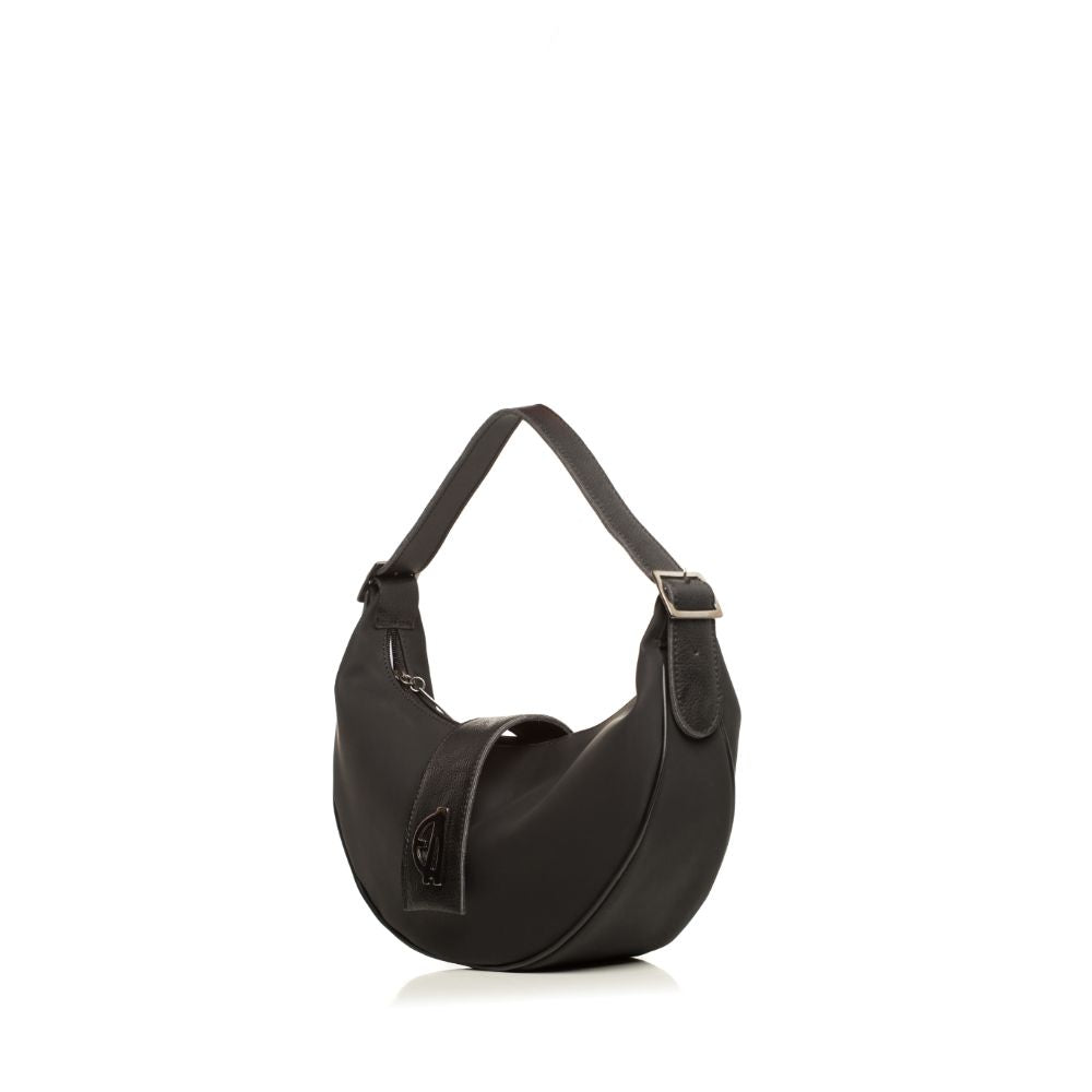 Fluffy Backpack Black