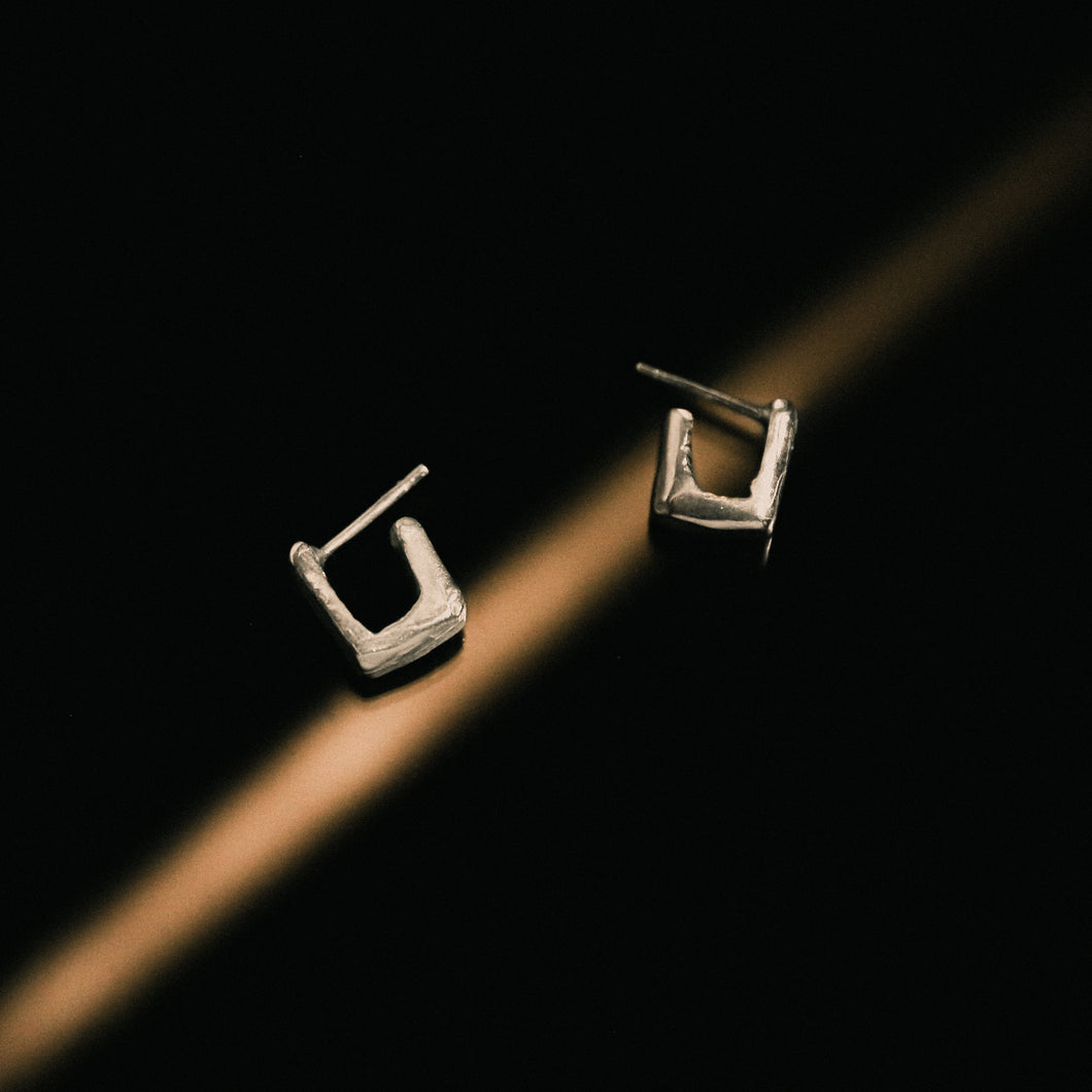 SQUARE HOOPS N02. / SMALL EDITION NA120