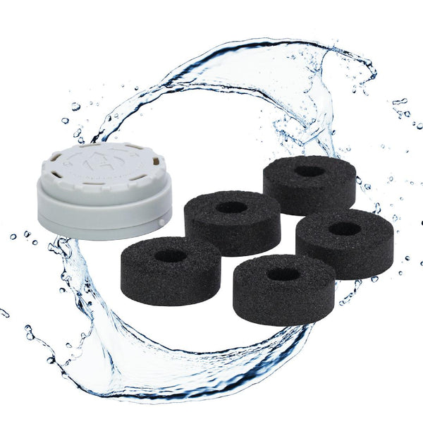 HYDAWAY-Carbon Filter 6-Pack-