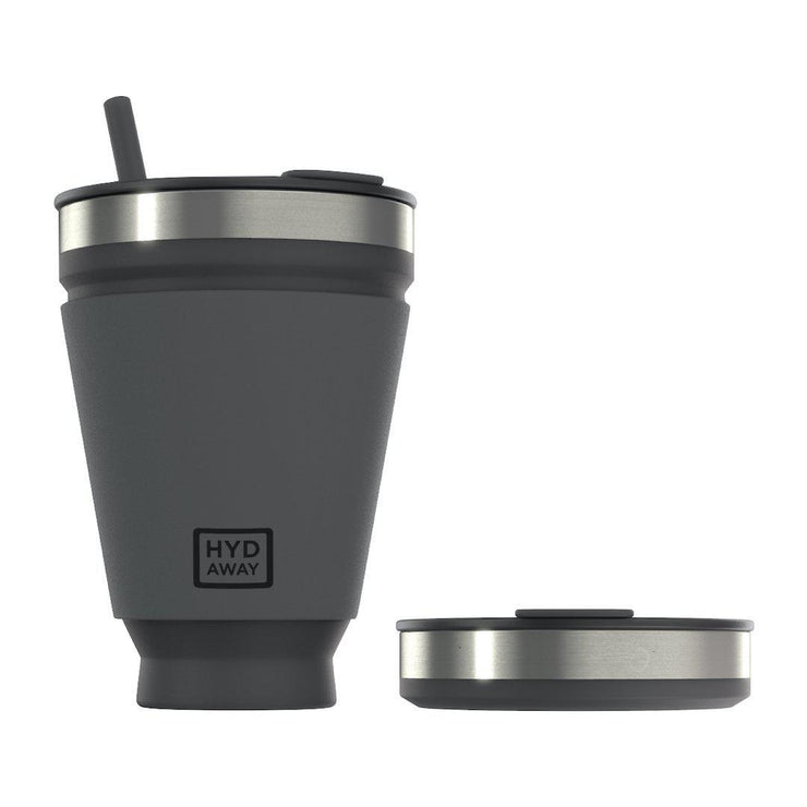 HYDAWAY-Collapsible Drink Tumbler-Jet Black-