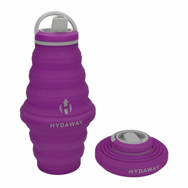 HYDAWAY-Collapsible Water Bottle | 25oz-Plum-