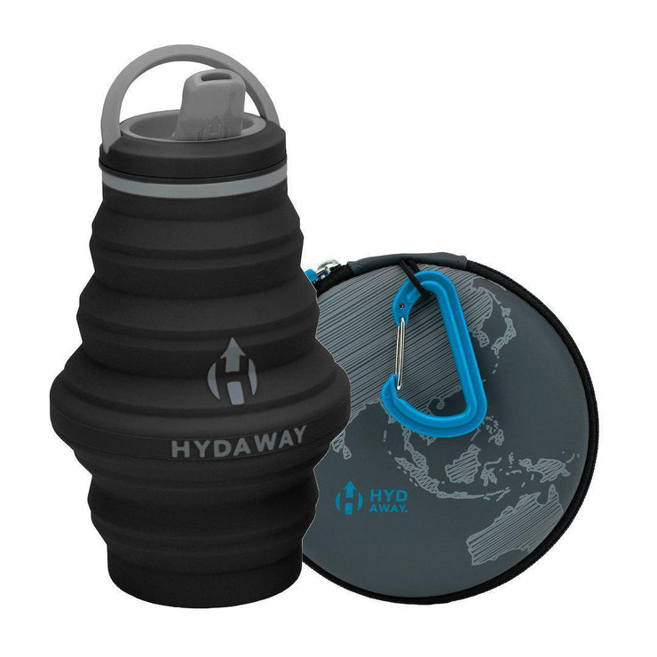 HYDAWAY-Hydration Travel Pack-Midnight-17oz-