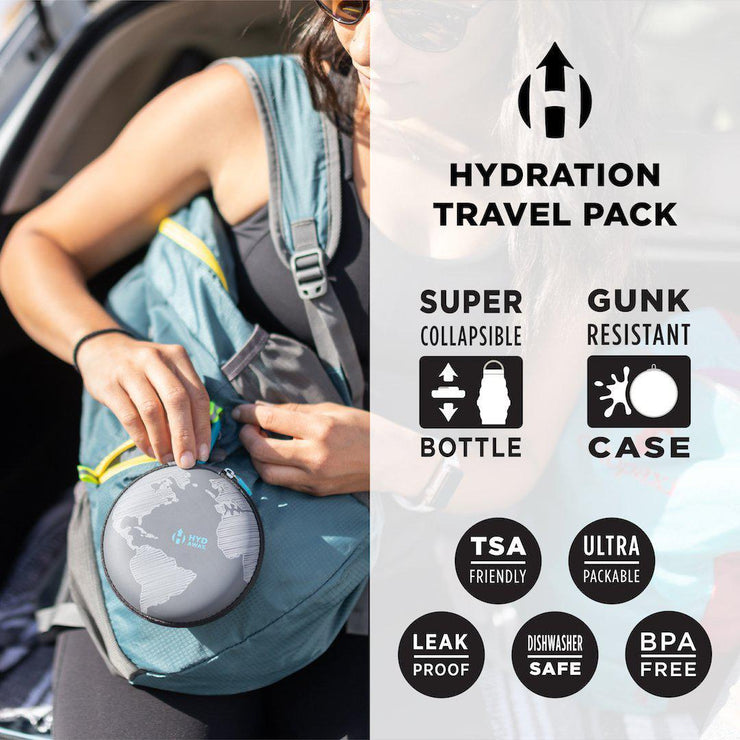 HYDAWAY-Hydration Travel Pack | no2plastic-