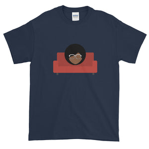 Afro Red Couch Tee - Confessions From a Red Couch