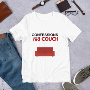 Red Couch Tee - Confessions From a Red Couch
