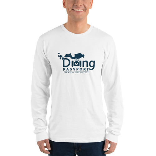 Long sleeve t-shirt (unisex) - DivingPassportStore