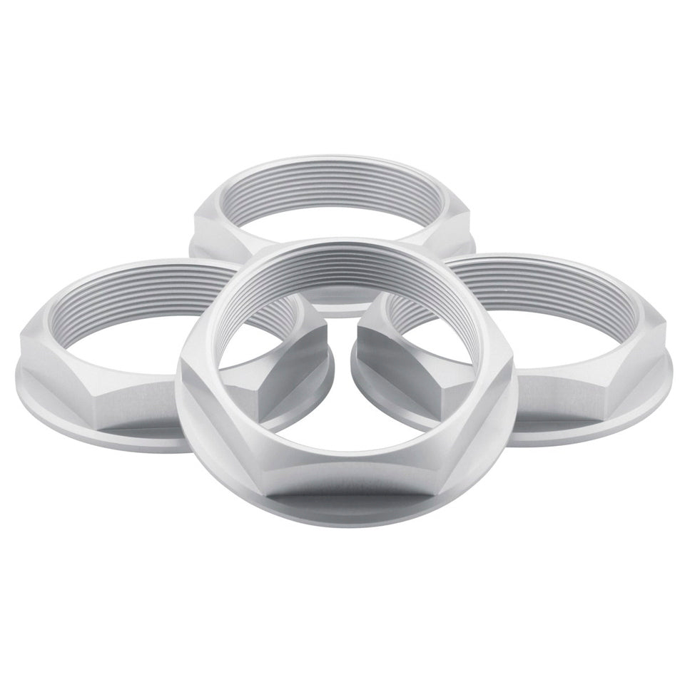 fifteen52 Super Touring Hex Nut Set - Anodized Silver