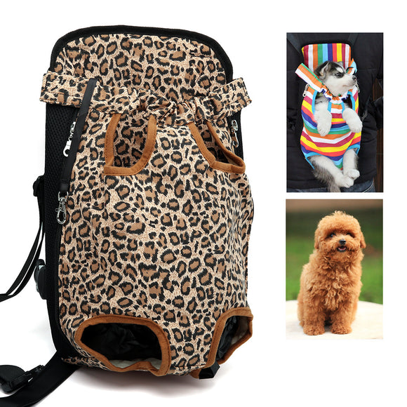 Pet Backpack Dog Bag Chest Pack Dog Carrier Legs Out Front Style Pets Supplies Comfort Travel For Small Dog Backpack Carrier