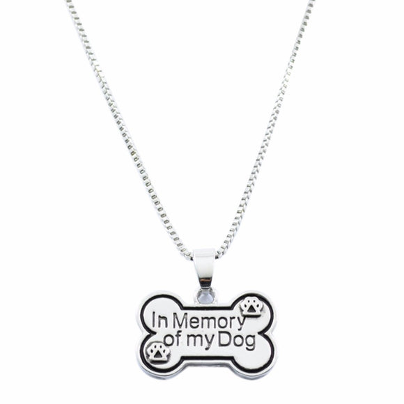 Creative Letters Pendant Necklace Personality Dog Tag Necklace