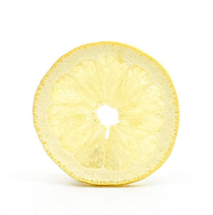 Freeze-Dried Lemon Slices