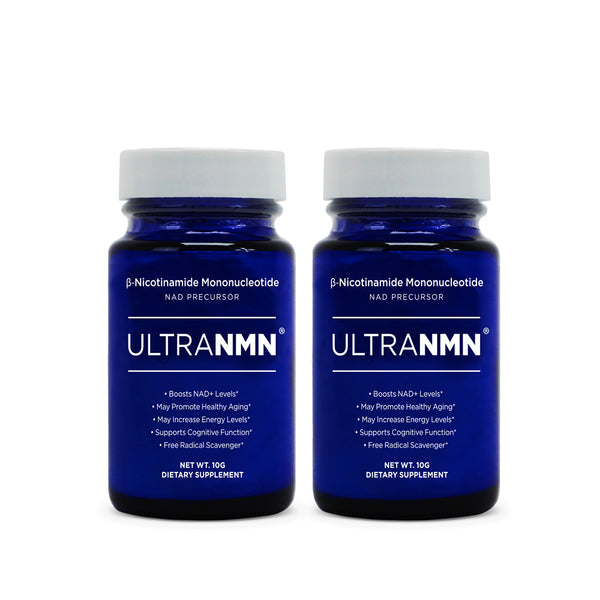 UltraNMN® 2-Pack 10g Powder -- 99%+ purity Sublingual Delivery