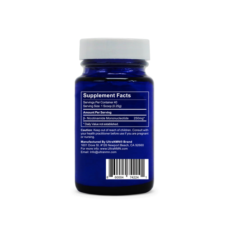 UltraNMN® 10g Powder - 99%+ Purity Sublingual Delivery