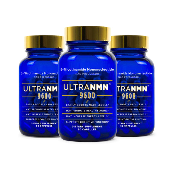 UltraNMN® 9600 3-Pack  60 Counts Vegan Capsules