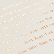 Load image into Gallery viewer, 'Polite Word' Vintage-Style Foiled Poem Print