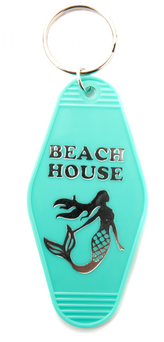 Beach House Motel/Hotel Keychain