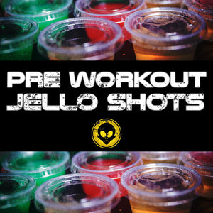 Delicious Pre Workout Jello Shots