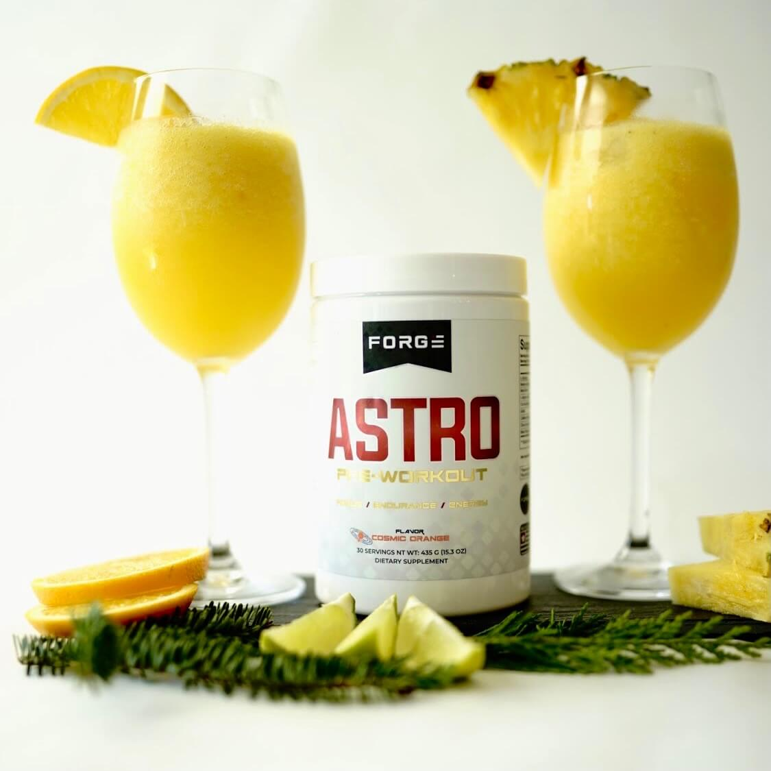 Pre Workout Recipe | Orange Pineapple Daiquiri