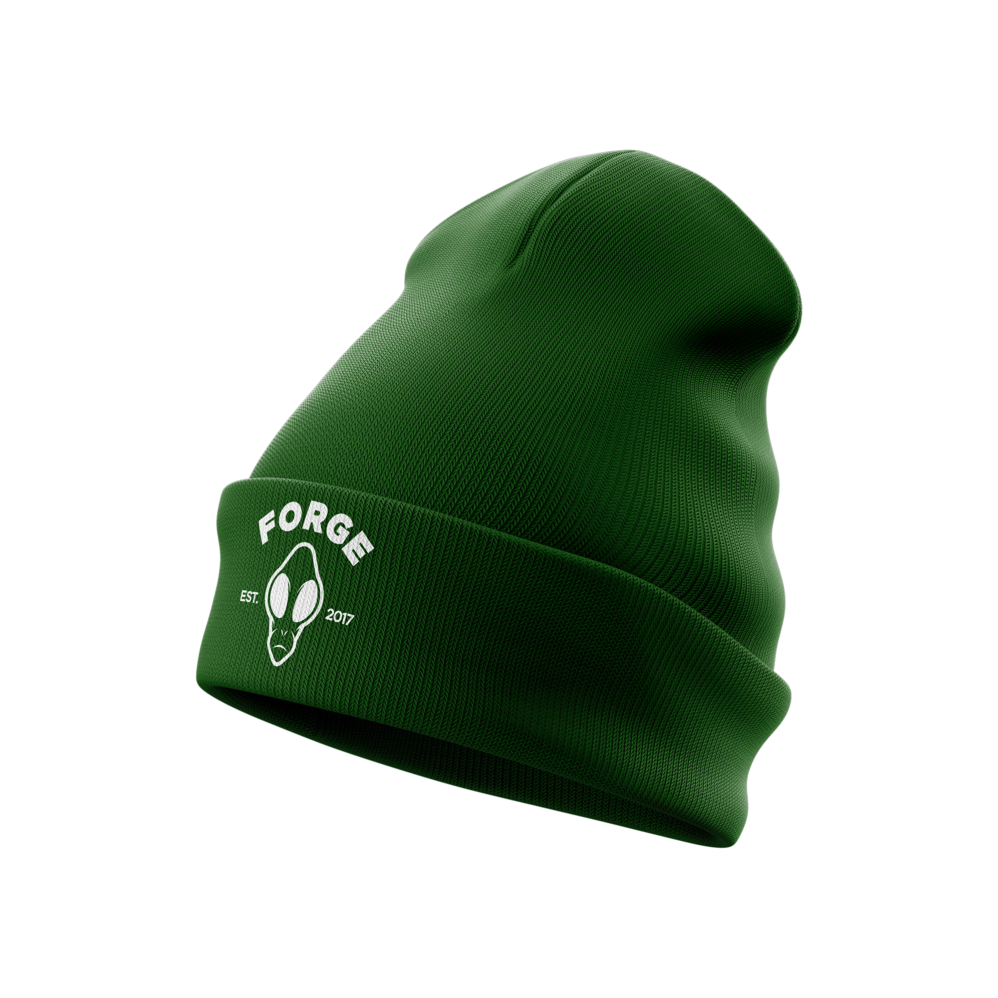 Space Helmet Beanie | Green
