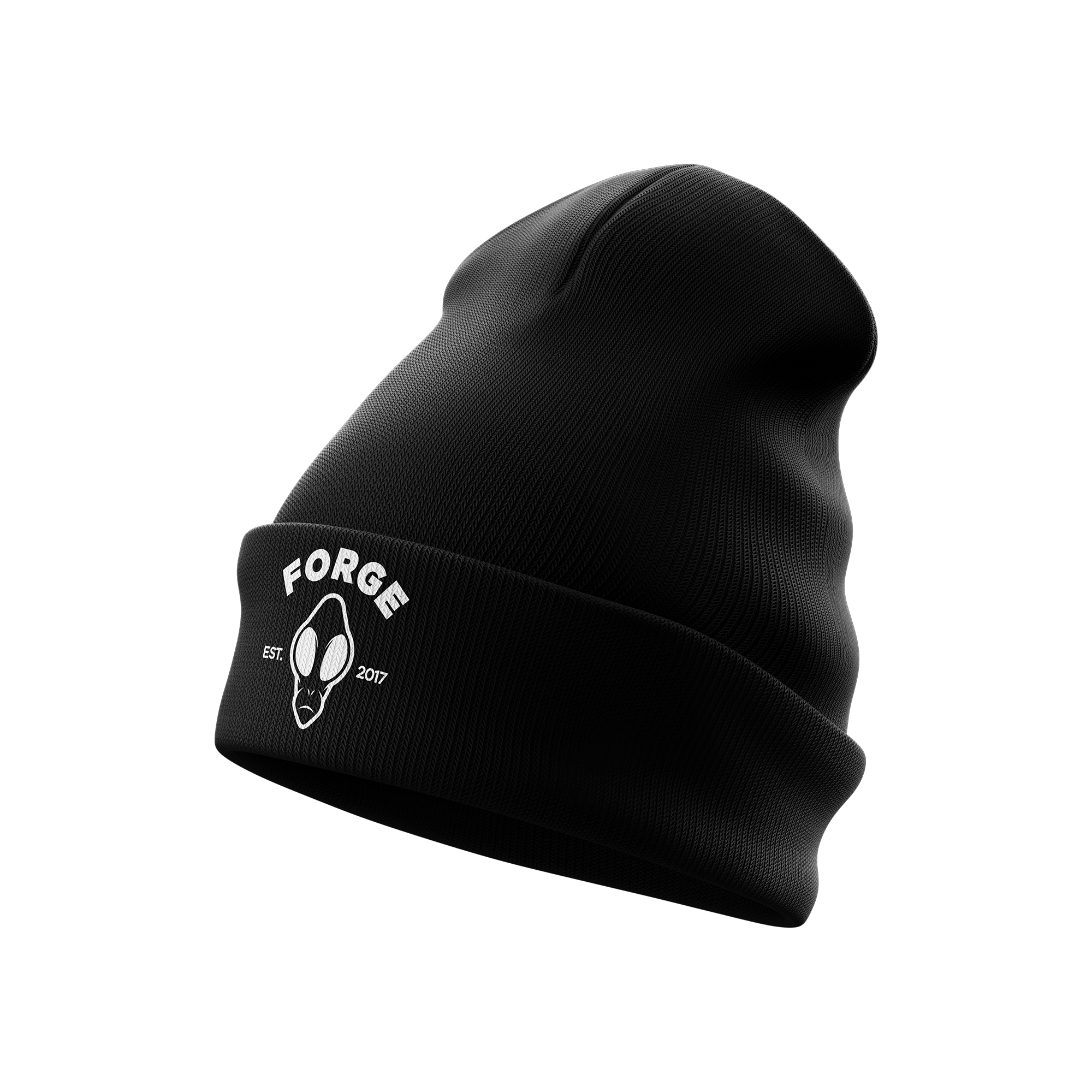 Space Helmet Beanie | Black