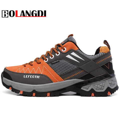 Bolangdi 2017 New Anti-Slippery Men Hiking Shoes