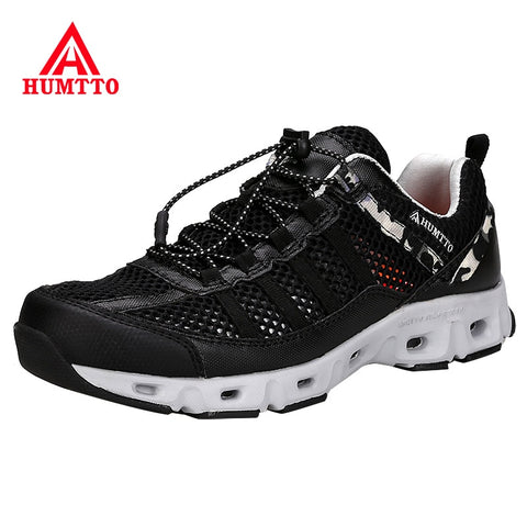HUMTTO Brand Mountain Hiking Shoes Men
