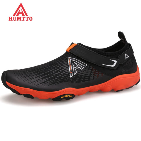 HUMTTO Brand Outdoor Hiking Shoes Men