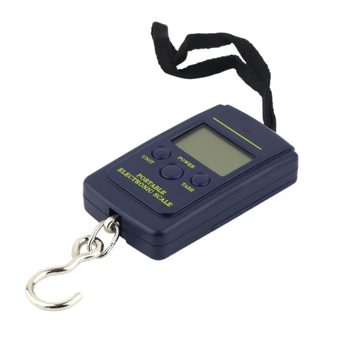 40kg/10g Portable LCD Digital Scale Hanging Fishing Hook