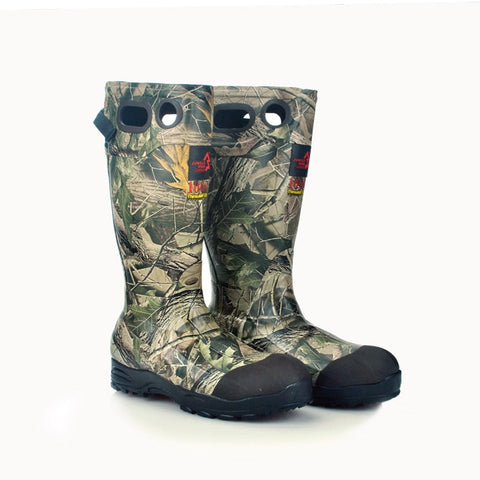 Brand hunting fishing shoes winter Non-Slip rubber boots Camouflage waterproof hunting shoes