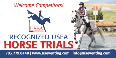 Vinyl USEA Eventing Banner