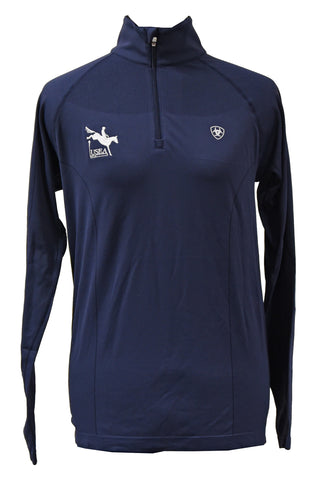 Ariat Odyssey 1/4 Zip- Available in Navy