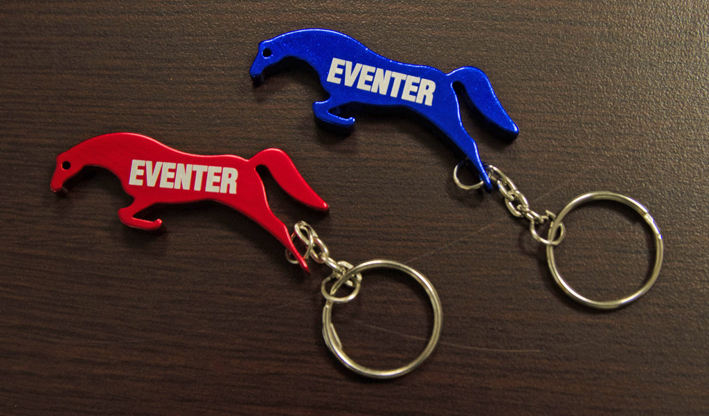 """Eventer"" Keychain (Available in red and blue)"