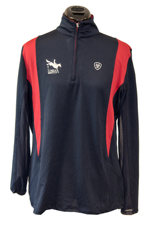 Ariat Team Sunstopper- 1/4 Zip