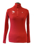 Ariat Cadence Wool 1/4 Zip (Available in Red and Black)