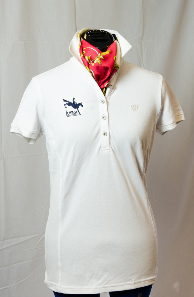 Ariat Ladies Prix Polo (available in White, Black and Navy)