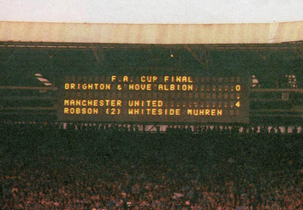 Manchester United 1983 FA Cup Final