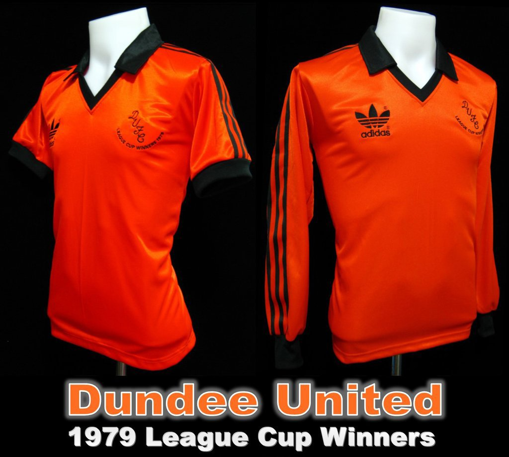 Dundee United 1979 Scottish League Cup Winners Shirt