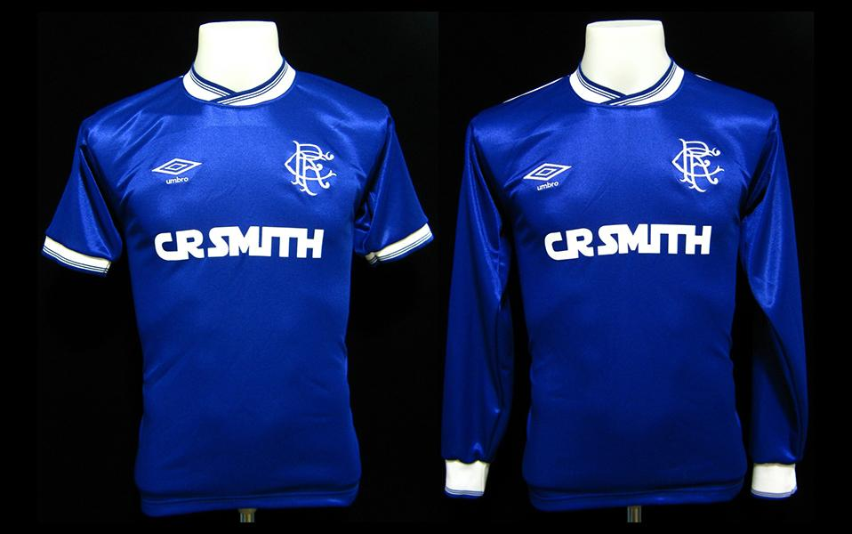 Glasgow Rangers 1985 – 87 Home Shirt