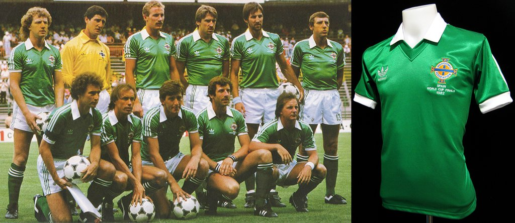Northern Ireland 1982 World Cup