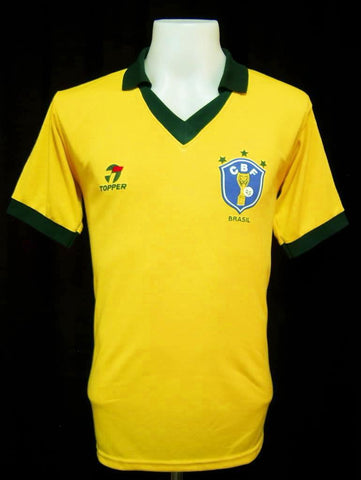 Brazil 1986 World Cup Shirt