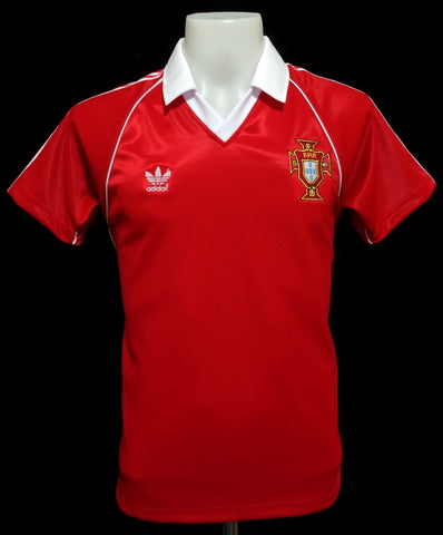 Portugal 1982-83 Home Shirt