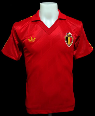 Belgium 1986 World Cup Home Shirt
