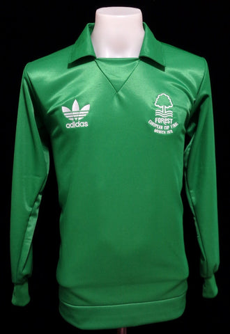Nottingham Forest 1979 European Cup Final Goalkeeper Shirt