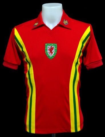 Wales 1976-79 Home Shirt